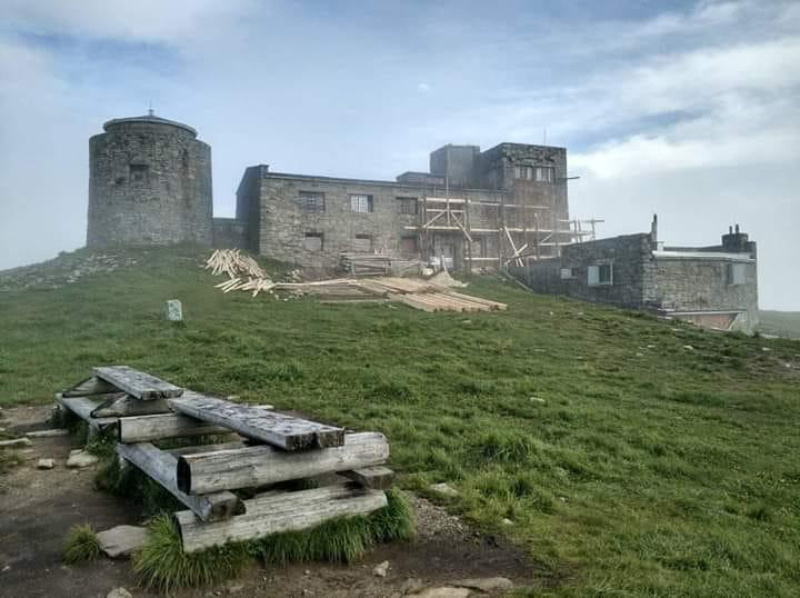 Реставрация старинной метеобашни началась на горе Поп Иван|В дороге - сайт о путешествиях и приключениях