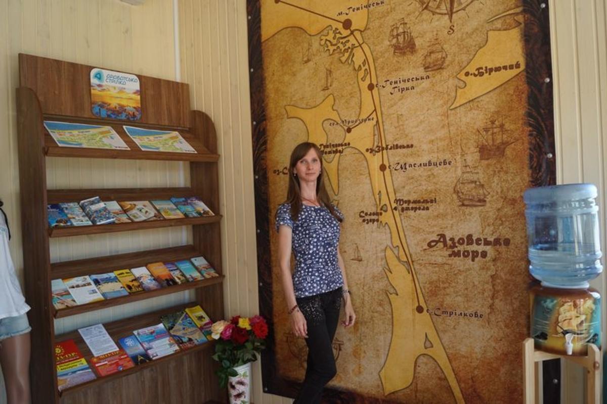Туристический информационный центр открыли на Арабатской стрелке|В дороге - сайт о путешествиях и приключениях